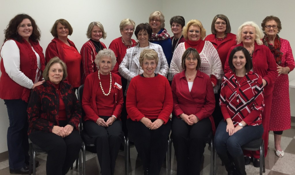 Members of the GFWC Grundy Woman's Club wore red during their February meeting to commemorate Heart Health Month. According to the American Heart Association, heart disease is the leading cause of death among women. In fact, only Lee County with 221.1 per 100,000 ranks higher than Buchanan County (214.1) in heart disease related deaths among women. For that reason, member Leigh Ann Hackney presented the club with several tips for reducing their risk, including eating healthier, losing weight and quitting smoking. The ladies will join the rest of the nation on February 5 for Red Dress Day, promoting awareness and encouraging others to learn their risk.